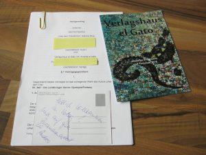 Vertrag vom Verlagshaus el Gato
