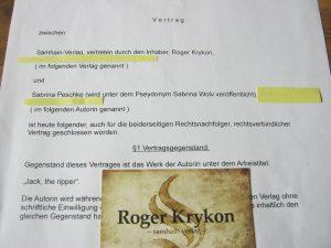 Vertrag vom Samhain Verlag