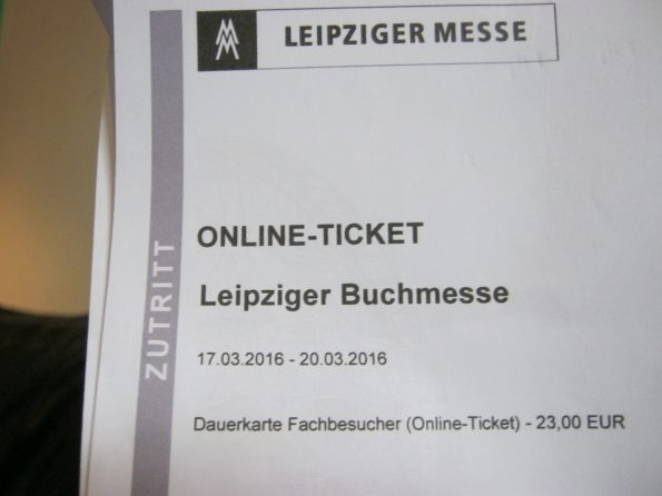 Ticket Leipzig